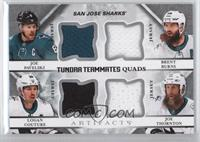 Joe Pavelski, Brent Burns, Logan Couture, Joe Thornton /99