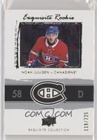 Noah Juulsen [EX to NM] #/225