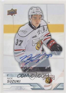 2018-19 Upper Deck CHL - [Base] - Autographs [Autographed] #98 - Nick Suzuki