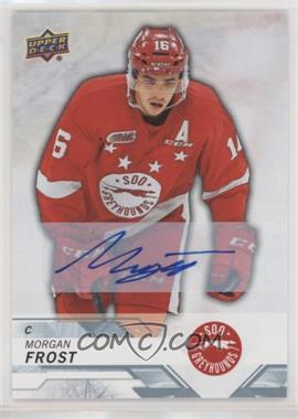 2018-19 Upper Deck CHL - [Base] - Autographs [Autographed] #99 - Morgan Frost