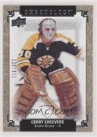 Gerry Cheevers #/222