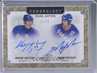 Wayne Gretzky, Mark Messier #/25