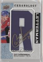 Auto - Guy Carbonneau #11/15