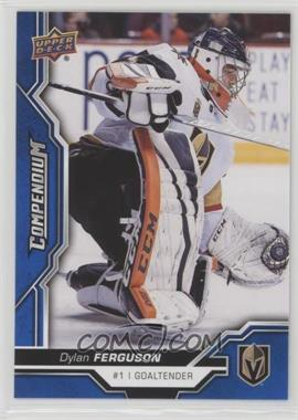 2018-19 Upper Deck Compendium - [Base] - Blue #393 - Dylan Ferguson
