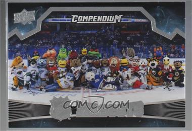 2018-19 Upper Deck Compendium - Mascots #M-SP - Achievement - NHL Mascots