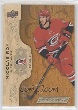 2018-19 Upper Deck Engrained - [Base] #66 - Rookies - Nicolas Roy /299