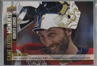 (Feb. 10, 2019) – Luongo Moves into 2nd Place on the All-Time Games Played List…