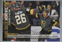 (Apr. 14, 2019) – Stastny & Stone Tally 5 Points Each as the 3rd Tandem in 30 Y…