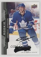 High Number Rookies - Andreas Johnsson /25
