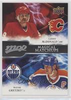 Lanny McDonald, Wayne Gretzky