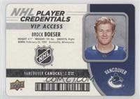 VIP Access - Brock Boeser