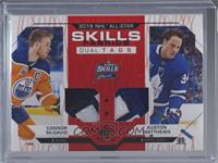 Connor McDavid, Auston Matthews /2