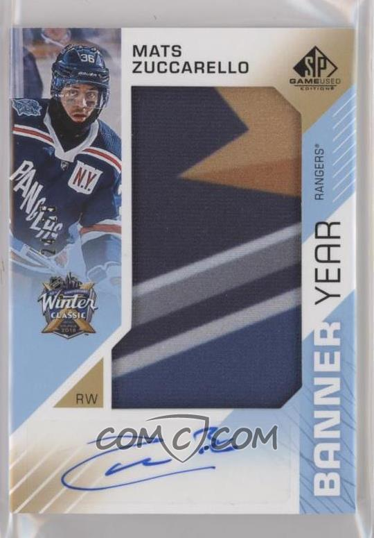 low priced 16a85 89a0c 2018-19 Upper Deck SP Game Used - Banner Year: 2018 Winter ...