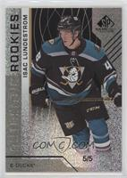 Authentic Rookies - Isac Lundestrom #/5