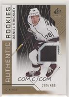 Authentic Rookies - Daniel Brickley #/499
