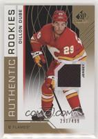 Authentic Rookies - Dillon Dube #/499