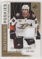 Authentic Rookies - Marcus Pettersson /499