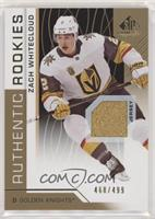 Authentic Rookies - Zach Whitecloud #/499