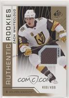 Authentic Rookies - Zach Whitecloud /499