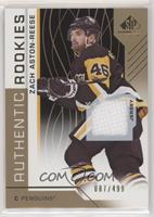 Authentic Rookies - Zach Aston-Reese #/499
