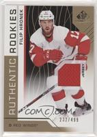 Authentic Rookies - Filip Hronek #/499