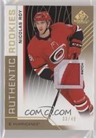 Authentic Rookies - Nicolas Roy #/49
