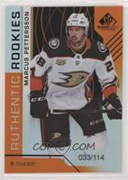 Authentic Rookies - Marcus Pettersson #/114
