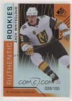 Authentic Rookies - Zach Whitecloud /100