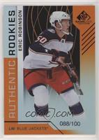 Authentic Rookies - Eric Robinson #/100