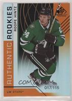 Authentic Rookies - Roope Hintz #/115