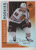 Authentic Rookies - Luke Johnson /113
