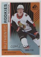 Authentic Rookies - Brady Tkachuk /118