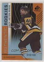Authentic Rookies - Zach Aston-Reese #/100