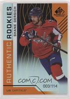 Authentic Rookies - Shane Gersich /114
