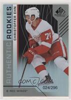 Authentic Rookies - Christoffer Ehn #/296