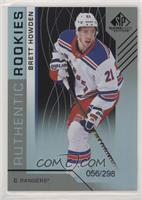 Authentic Rookies - Brett Howden #/298