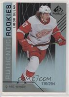 Authentic Rookies - Libor Sulak /294