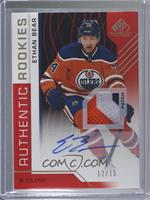 Authentic Rookies - Ethan Bear #/15