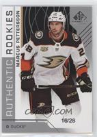 Authentic Rookies - Marcus Pettersson #/28