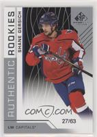 Authentic Rookies - Shane Gersich /63