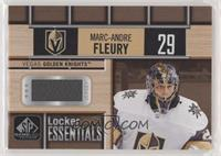 Marc-Andre Fleury (Uncorrected Error: Message on back says Tomas Tater relic)