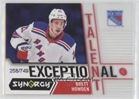 Brett Howden [EX to NM] #/749