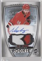 Rookie Patch Autograph - Nicolas Roy [Noted] #/249