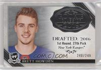 Brett Howden #/249