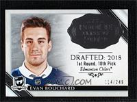 Evan Bouchard #/249