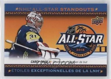 2018-19 Upper Deck Tim Hortons Collector's Series - All-Star Standouts Checklists #AS-5 - Carey Price