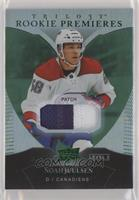 Uncommon Rookies Patch - Noah Juulsen #/49