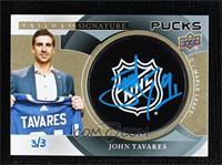 John Tavares #/3