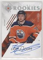 Tier 1 Ultimate Rookies Autographs - Evan Bouchard #/299