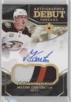 2019-20 Ultimate Collection Update - Maxime Comtois #/99